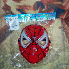 Masca Spiderman rosie cu  lumini