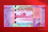 SAMOA  -  5 Tala 2008  -  UNC