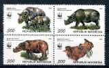 Indonesia 1996 - Fauna WWF serie neuzata