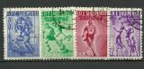 Albania 1959 - sport Spartakiada, serie stampilata
