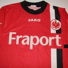 Tricou fotbal cu autografe - EINTRACHT FRANKFURT (jucatorul nr.9 ARIE VAN LENT), S, Din imagine, De club