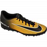 Ghete Fotbal Nike Mercurialx Vortex Iii TF M 831971801, 42.5, Negru, Barbati