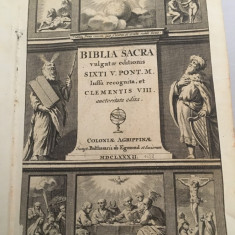 Bible antica Latina 1688