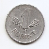 Ungaria 1 Forint 1961 -  Aluminiu, 23.7 mm KM-555, Europa