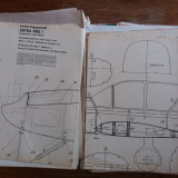 Lot diverse materiale , reviste, scheme, schite aeromodelism  / CAVP, Alta editura