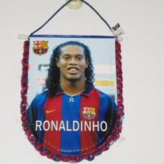 Fanion fotbal - FC BARCELONA - RONALDINHO