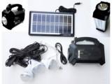 Kit solar camping Radio FM GDPlus GD-8161