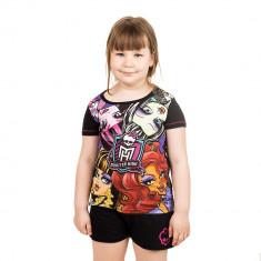 Pijama fete Monster High neagra