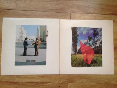 PINK FLOYD - WISH YOU WERE HERE (1975,COLUMBIA,CANADA) vinil vinyl foto