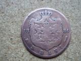 5 bani 1884   CAROL I L 5.18, Bronz