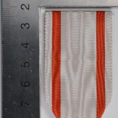 Panglica Crucea Meritul Sanitar 1913, tip WW1 - inlocuitor modern