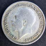3 Pence 1922 -George V- Regatul Unit / Anglia - Argint, Europa
