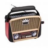 Radio retro portabil cu incarcare solara RD 455US