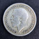 3 Pence 1920 -George V- Regatul Unit / Anglia - Argint, Europa