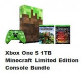 Consola Xbox One S Minecraft Limited Edition