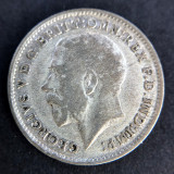3 Pence 1921 -George V- Regatul Unit / Anglia - Argint, Europa