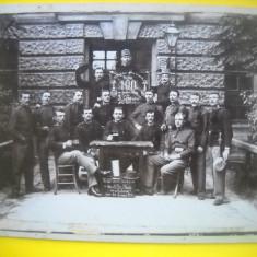 HOPCT 203 A FOTOGRAFIE VECHE MILITARI AUSTRIA 1907-248/188MM- HOWANIETZ-CARTON, Sepia, Militar, Europa