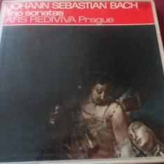 DISC  VINIL   JOHANN SEBASTIAN BACH - TRIO SONATAS 2 VINILURI