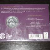 Moneda comemorativa 20 pounds Anglia 2015, argint, Europa