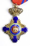 Ordinul / Decoratia Steaua Romaniei tip1, Ofiter, Civil