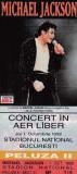 BILET CONCERT IN AER LIBER MICHAEK JACKSON Joi 1 Octombrie 1992