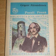 RWX 11 - POEZII. PROZA - GRIGORE ALEXANDRESCU - EDITATA IN ANUL 1985