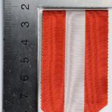 Panglica Medalia Ca Răsplată a Muncei pentru Învățământ- originala