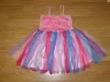 Costum carnaval serbare floare zana pentru copii de 4-5 ani