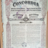 ROMANIA - Concordia - 250 lei 1924 actiune industria petrolifera, Europa