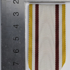 Panglica Crucea Meritul Sanitar 1913, tip WW2 - inlocuitor modern