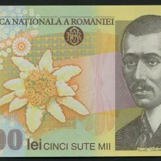 ROMANIA 500000 LEI 2000  ( 2004 ) semnatura ISARESCU PERFECT UNC