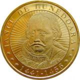 Romania, 50 bani 2016 UNC_comemorativa _Iancu de Hunedoara