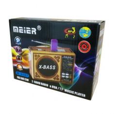 Radio Meier M-U167 Player USB / TF / MP3