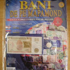 RWX 81 - BANI DE PE MAPAMOND - NUMARUL 18 - IN AMBALAJUL ORIGINAL!!!