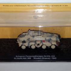 Macheta tanc Schwerer Panzerspahwagen - 1943  scara 1:72