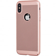 Husa Capac Spate Dot Roz APPLE iPhone X, iPhone Xs