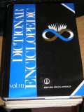 RWX 13 - DICTIONAR ENCICLOPEDIC - VOLUMUL III - H - K - EDITATA IN 1999