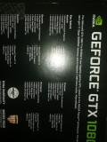 Vând placa video nvidia gtx 1080ti 11 gb