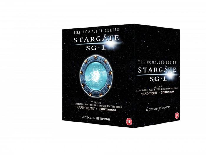 Film Serial Stargate SG-1 - Complete Season 1-10 + The Ark of Truth [DVD]