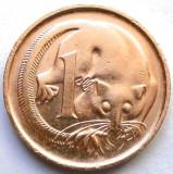 AUSTRALIA , 1 CENT 1981 , OPOSUMUL PLANOR !!!, Australia si Oceania