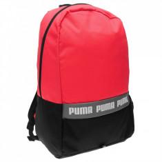 Rucsac Puma Phase 47x28x18cm -negru/roz - produs original - IN STOC