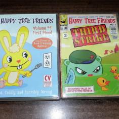 Lot 5 dvd desene animate adulti  horror  Happy Tree Friends  Suicidal Squirrels, Altele