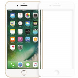 Sticla Securizata Full Body 3D Curved Alb Apple iPhone 7, iPhone 8