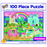 Puzzle - Taramul Printeselor ( 100 piese), Galt