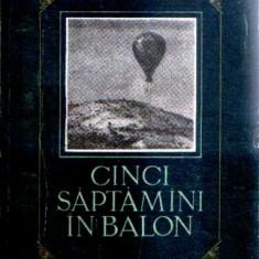 Cinci săptămâni în balon de Jules Verne (1955)