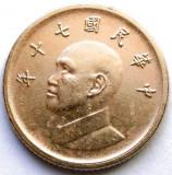 TAIWAN , 1 YUAN 1980, Asia