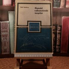 """Radu Ianculescu - Manualul radioamatorului incepator """"A6041"""""""