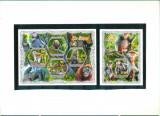 Coasta de Fildes 2018 - MAIMUTE - BL + serie ( KB ) - MNH, Nestampilat
