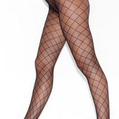 STK207-1 Ciorapi lungi, cu chilot din plasa si model