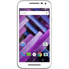 Moto G Dual Sim 16GB LTE 4G Alb Turbo Edition